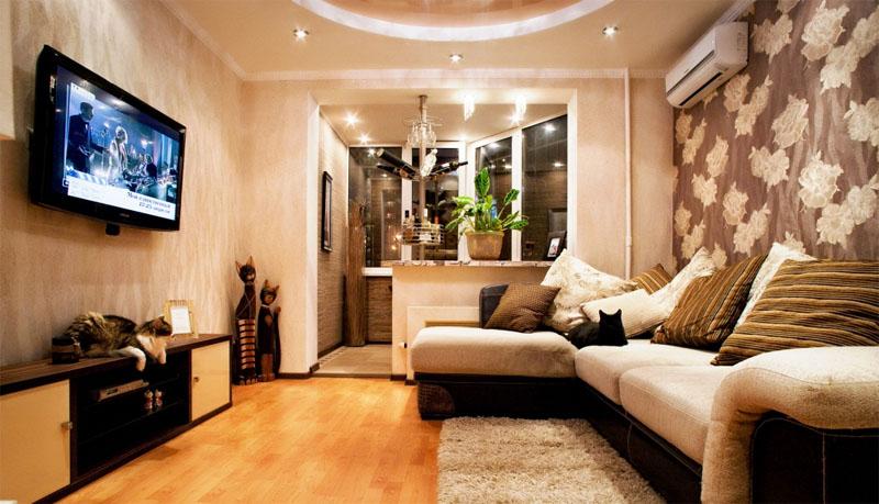 Варианты перепланировки квартиры однокомнатной в хрущевке