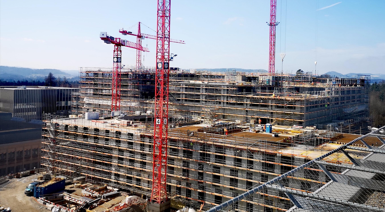 KSB: Auf der grössten und teuersten Aargauer Baustelle