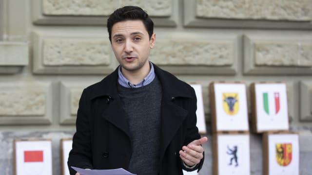 Leroy Bächtold über die FDP und liberale Lösungen für die Schweiz. (Bild: Keystone)