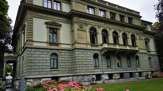 Das Bezirksgericht in Winterthur. (Foto: Stefan Bill)