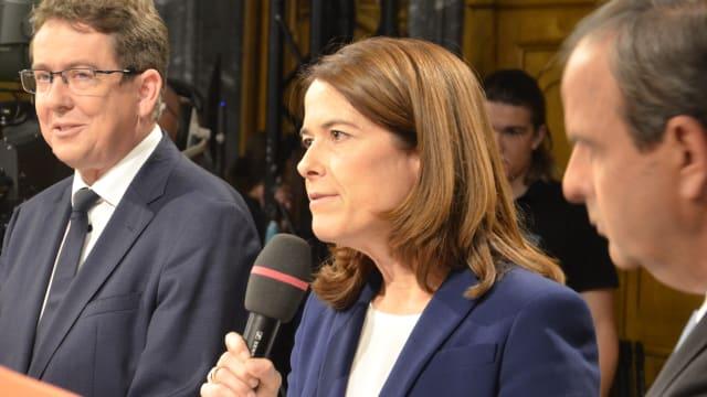 Petra Gössi nach der verlorenen Parlamentswahl 2019. (Bild: Hadi, CC-Lizenz)
