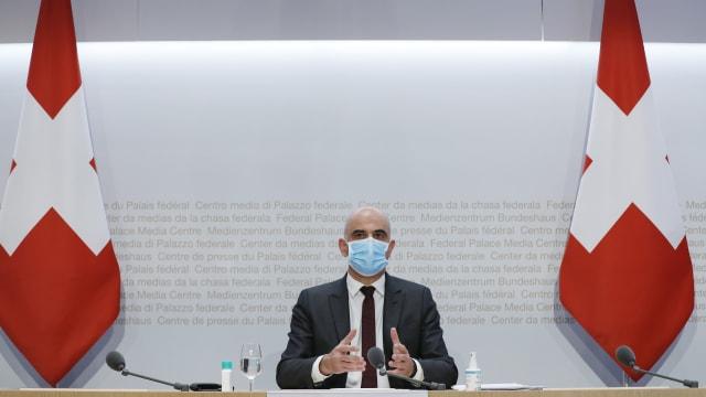 Bundesrat Alain Berset. Bild: Ruben Sprich