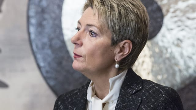 Bundesrätin Karin Keller Sutter. (Bild: World Economic Forum / Faruk Pinjo)