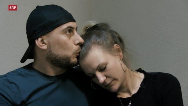Ausschnitt aus «Die Aufseherin und der Häftling: Liebesflucht aus dem Gefängnis». Quelle: SRF DOK