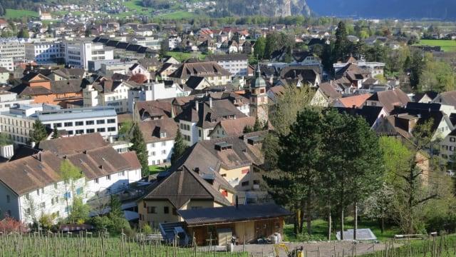 Der Ortskern von Altdorf. (Bild: Paebi/Wikimedia)