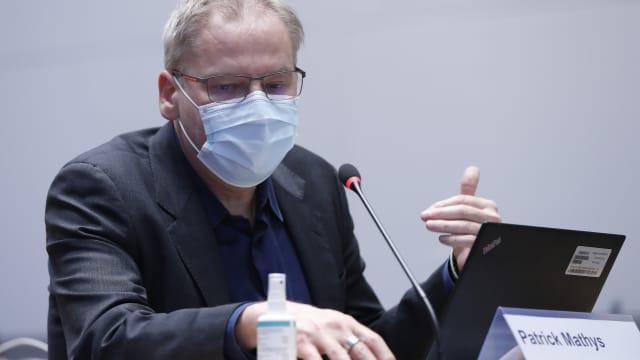 Muss Red und Antwort stehen Patrick Mathys, Leiter Krisenbewältigung im BAG: Bild: Ruben Sprich