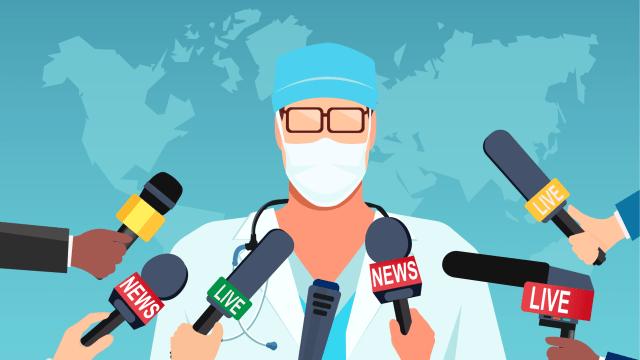Corona, Corona, Corona: Die Pandemie ist das Ein und Alles der Medien-Diskussion geworden.  (FGC)