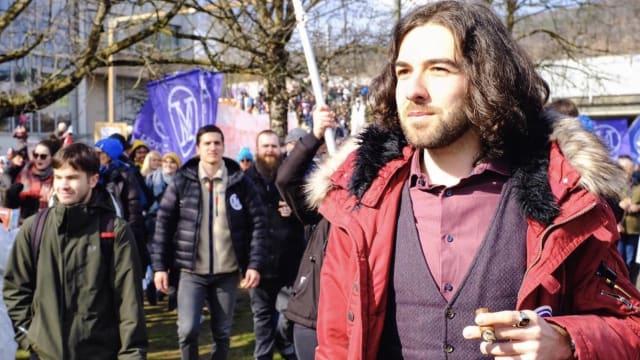 Nicolas Rimoldi, Kopf der Bewegung «Mass-Voll».