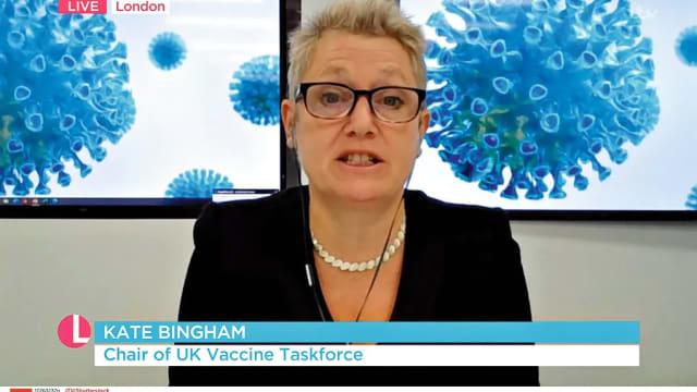 Kate Bingham sicherte Grossbritannien im Rekordtempo 357 Millionen Impfdosen. (Bild: ITV/Shutterstock)