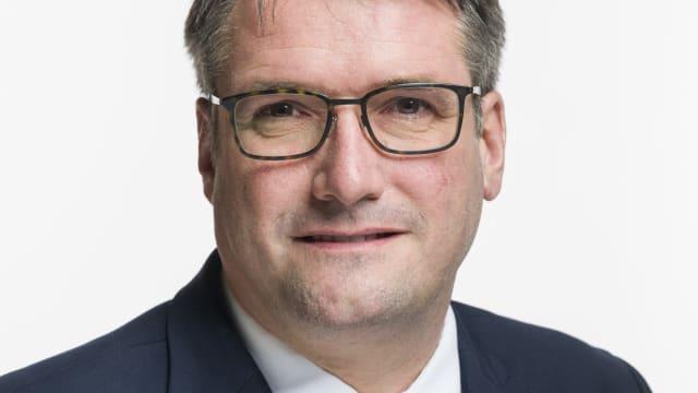 Christian Levrat, neuer Präsident der Post. Quelle: Parlamentsdienste 3003 Bern