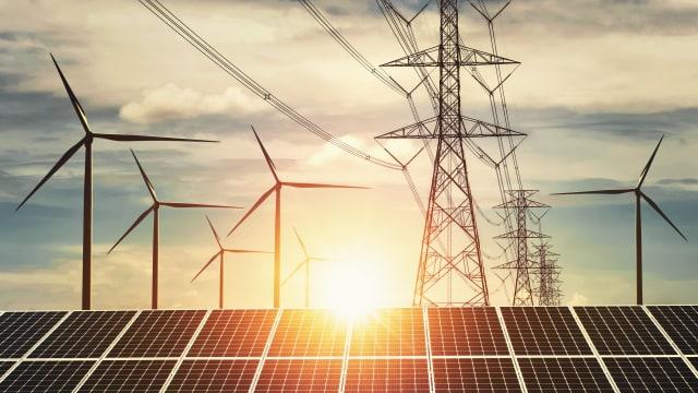 Können Sonnen- und Windstrom die Versorgung sicherstellen? Bild: Shutterstock
