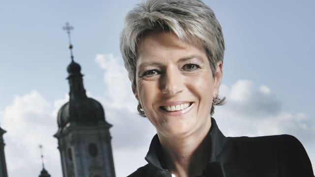 Karin Keller-Sutter sitzt seit 2018 für die FDP im Bundesrat. Die St. Gallerin steht dem Eidgenössischem Justiz- und Polizeidepartement vor.