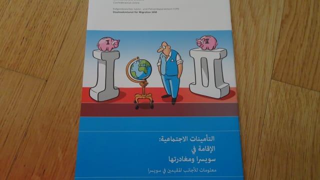 Erste und Zweite Säule auf arabisch Bild: Beni Frenkel