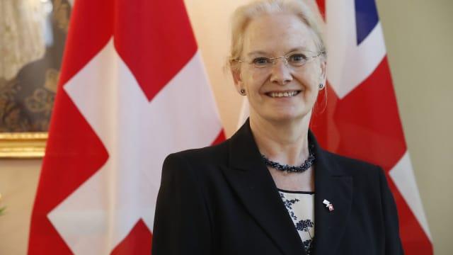 Botschafterin Jane Owen möchte ein umfassendes Freihandelsabkommen aushandeln. (Bilder: Ruben Sprich)