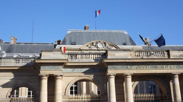 Palais Royale in Paris, Sitz des Conseil d'Etat. (Copyright under Free GNU-License © 2003 David Monniaux)