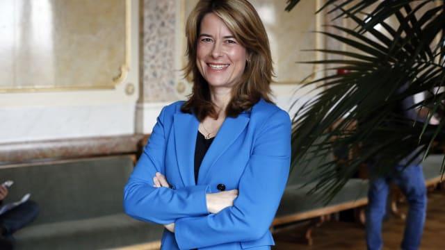 Eine Mehrheit der FDP-Sympathisanten macht ihren Kurswechsel nicht mit: Parteipräsidentin Petra Gössi. (Bild: Ruben Sprich)