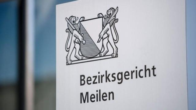 Das Bezirksgericht Meilen fällte heute ein Urteil in erster Instanz. (Bild: Stefan Bill)