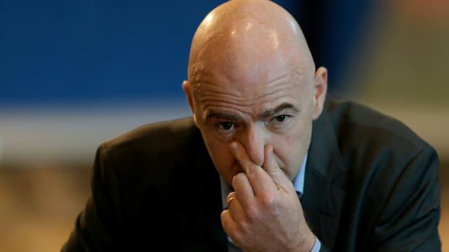 FIFA-Präsident Gianni Infantino will den ausserordentlichen Bundesanwalt weg haben. (Bild: Doha Stadium Plus Qatar / CC-Lizenz 2.0)
