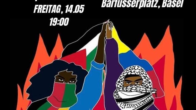Aufruf zu Demo gegen Israel: Linksradikale Hand in Hand mit Islamisten. Screenshot: Facebook