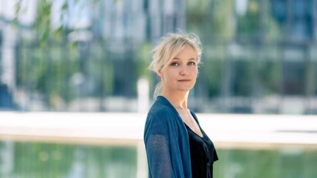 Die Schauspielerin Eva Herzig. (Bild: Ulrik Hölzel)