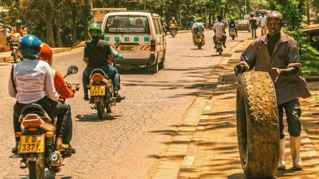 Kigali, Afrika: Ohne westliches Vorbild hätte es hier wohl gar keine Coronamassnahmen gegeben – und weniger Hungertote. (Bild: Pixabay)
