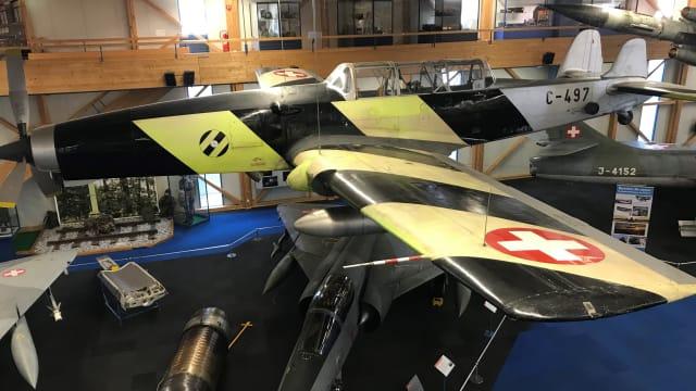 C-3605 im Fliegermuseum Dübendorf. Bild: zVg