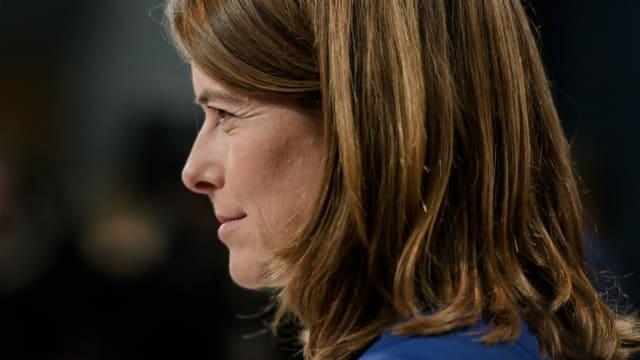 Petra Gössi, Nationalrätin, Kanton Schwyz. Seit 2016 ist sie Präsidentin der FDP. Ihr Kanton hat das CO2-Gesetz mit 65,5 % abgelehnt. Niemand verwarf deutlicher.