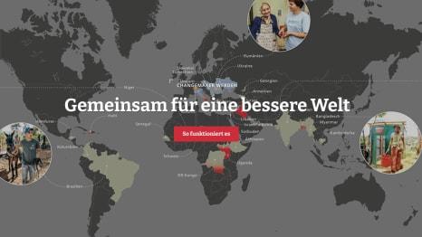 Machen Bundespolitik: Das HEKS. (Bild:Screenshot).