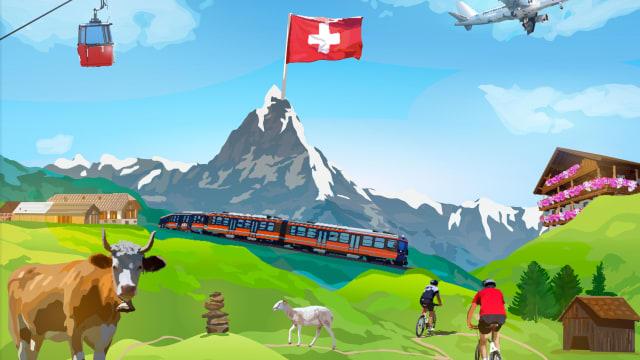 Die Schweiz ist am innovativsten – sagt sogar die EU. (Bild: Shutterstock)