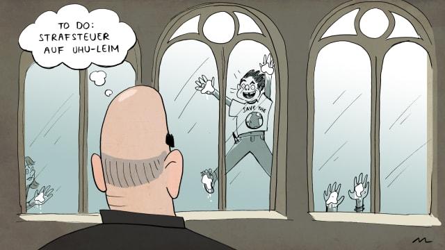 Karikatur: Marina Lutz