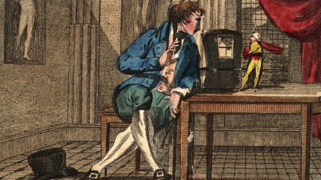 "Illustration von Jonathan Swifts Buch ""Gullivers Reisen"" (Photo by Hulton Archive/Getty Images)"