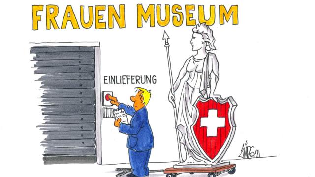 Gehören die Frauen ins Museum? Die Mehrheit des Nationalrats meint: Ja!