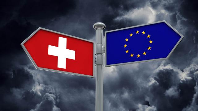 Die nächste europapolitische Frage ist bereits da: wohin orientiert sich die Schweiz? (Bild: Shutterstock)