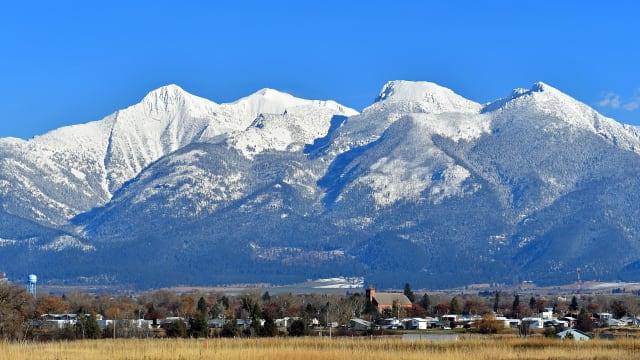 St. Ignatius im Flathead-Tal in Montana (USA), der erste Einsatzort für P. Balthasar Feusi S.J. (Bild: Martina Nolte, CC-Lizenz)