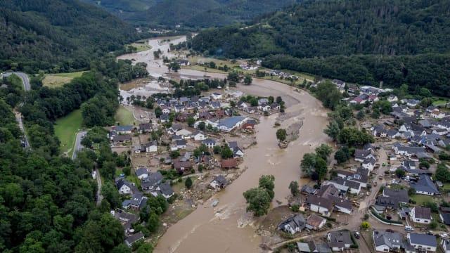 Hochwasserkatastrophe in Deutschland: Ist der Klimawandel schuld? Bild: Shutterstock