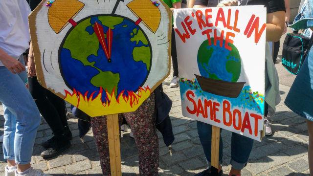 Basis contra Führung: In Klimaschutz-Fragen brennt bei der FDP nicht die Erde, sondern der Baum. Foto: Shutterstock