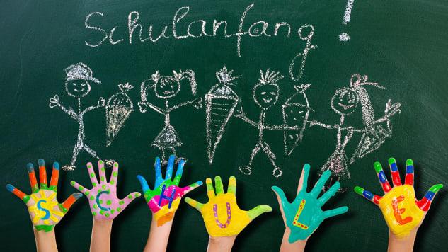 Das Leben kann schön sein, auch in der Schule. Foto: Shutterstock