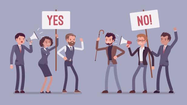 Spaltet die Gemüter: Die Frage, wie viel eine geschlechterneutrale Sprache tatsächlich bringt, führt oft zu hitzigen Debatten. BILD: Shutterstock