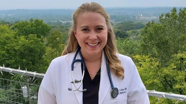 Die amerikanische Ärztin Brytney Cobia.