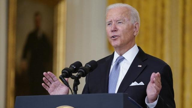 Der amerikanische Präsident Joe Biden erklärt, warum er den Abzug aus Afghanistan befohlen hat.