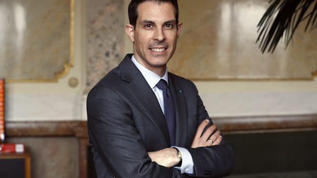 Ist er der freisinnige Heilsbringer? Der designierte FDP-Präsident Thierry Burkart. Foto: Ruben Sprich
