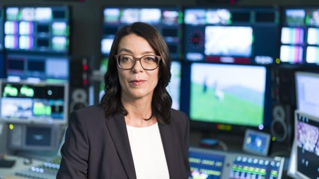Nathalie Wappler, Direktorin von Schweizer Radio und Fernsehen, SRF (KEYSTONE/Gaetan Bally)