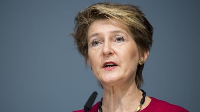 Im Dilemma: Bundesrätin Simonetta Sommaruga (SP). Bild: Keystone