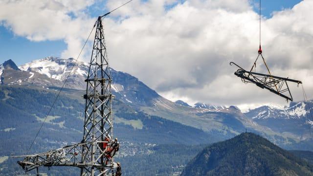 Die Schweizer Stromversorgung muss unabhängig vom Ausland erfolgen, fordert die FDP Zug. Bild: Keystone