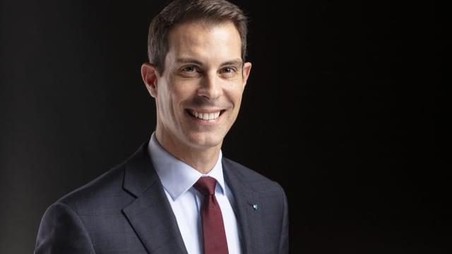 Der Hoffnungsträger vieler Liberaler: Neo-FDP-Präsident Thierry Burkart. Foto: Keystone
