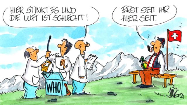 Karikatur:  Jürg Kühni
