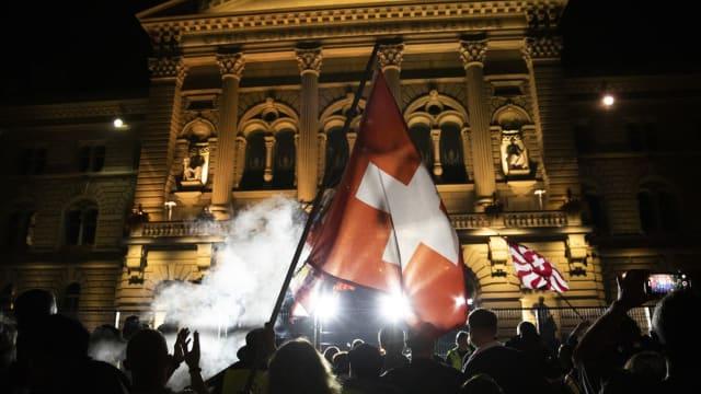 Hermetisch abgeriegelt: Das Bundeshaus. Foto: Keystone