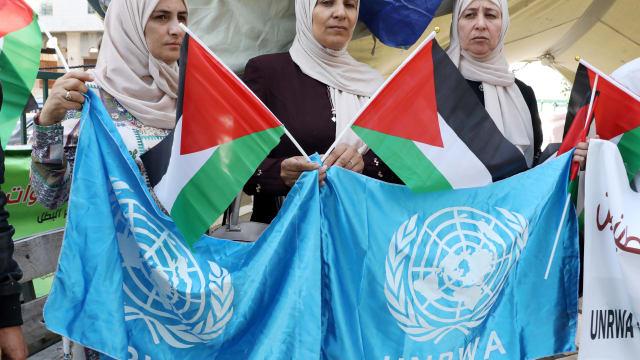 Antisemitismus in UNRWA-Schulbücher – und die Schweiz finanziert mit. Bild: Keystone-SDA