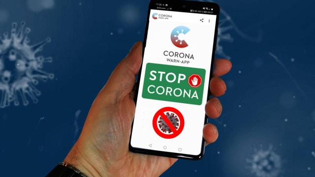 Die deutsche Corona-Warn-App war das «Eingangstor» für die Schweizer App. (Bild: Pixabay)