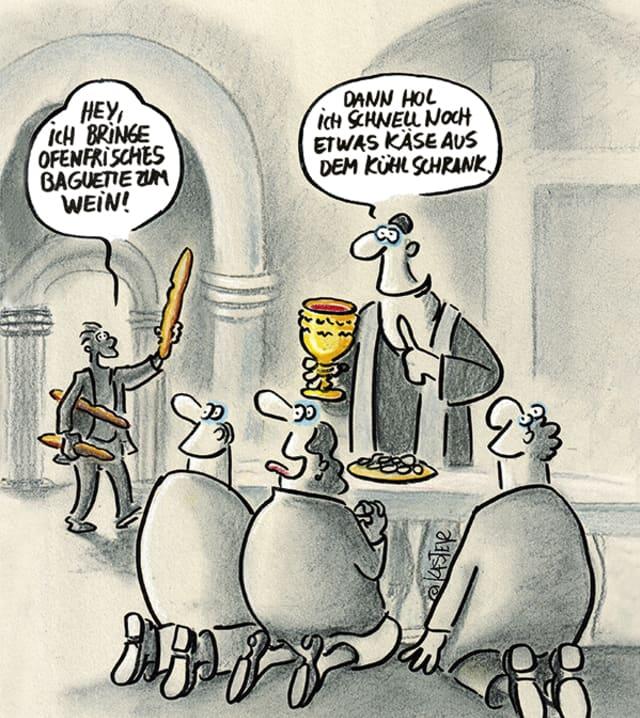 Cartoon: Petra Kaster